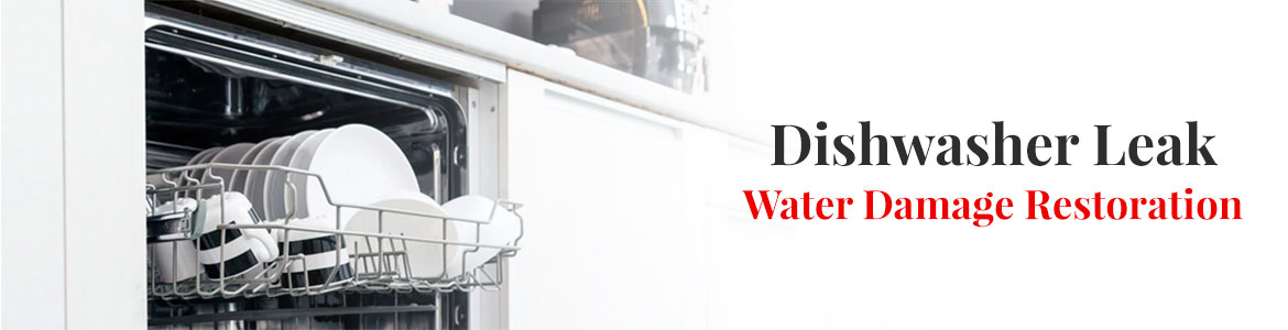 Dishwasher Leak Water Damage Restoration in Little Rock, Hot Springs, Conway & Benton, AR