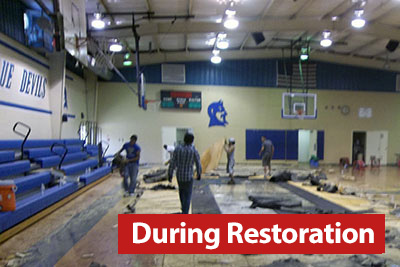 Restoration Services for schools buildings